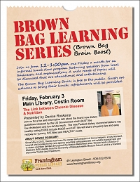 Brown Bag Learning Series: The Link between Chronic Disease & Nutrition thumbnail Photo