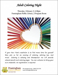 Join us for another Adult Coloring Night! thumbnail Photo