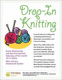 DROP-IN KNITTING! thumbnail Photo