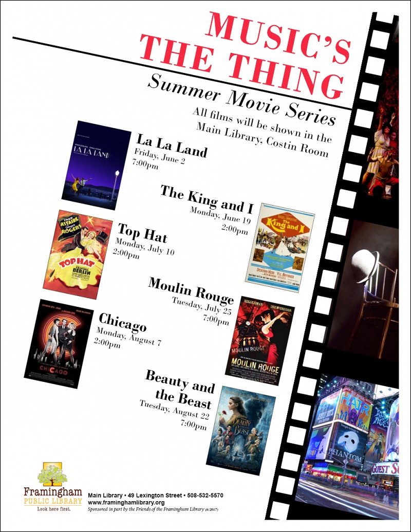 Music's The Thing Summer Movie Series Matinee: Top Hat thumbnail Photo