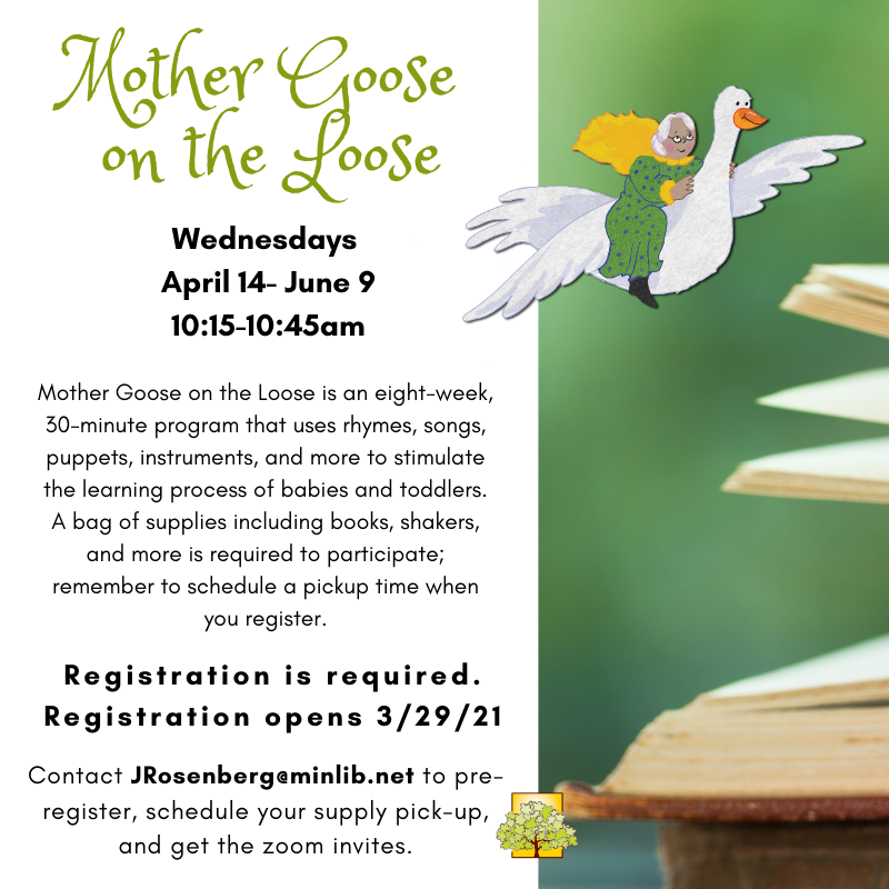 Mother Goose on the Loose (Pre-registration Required) thumbnail Photo