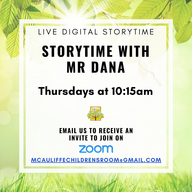 Thursday Storytime with Mr Dana thumbnail Photo