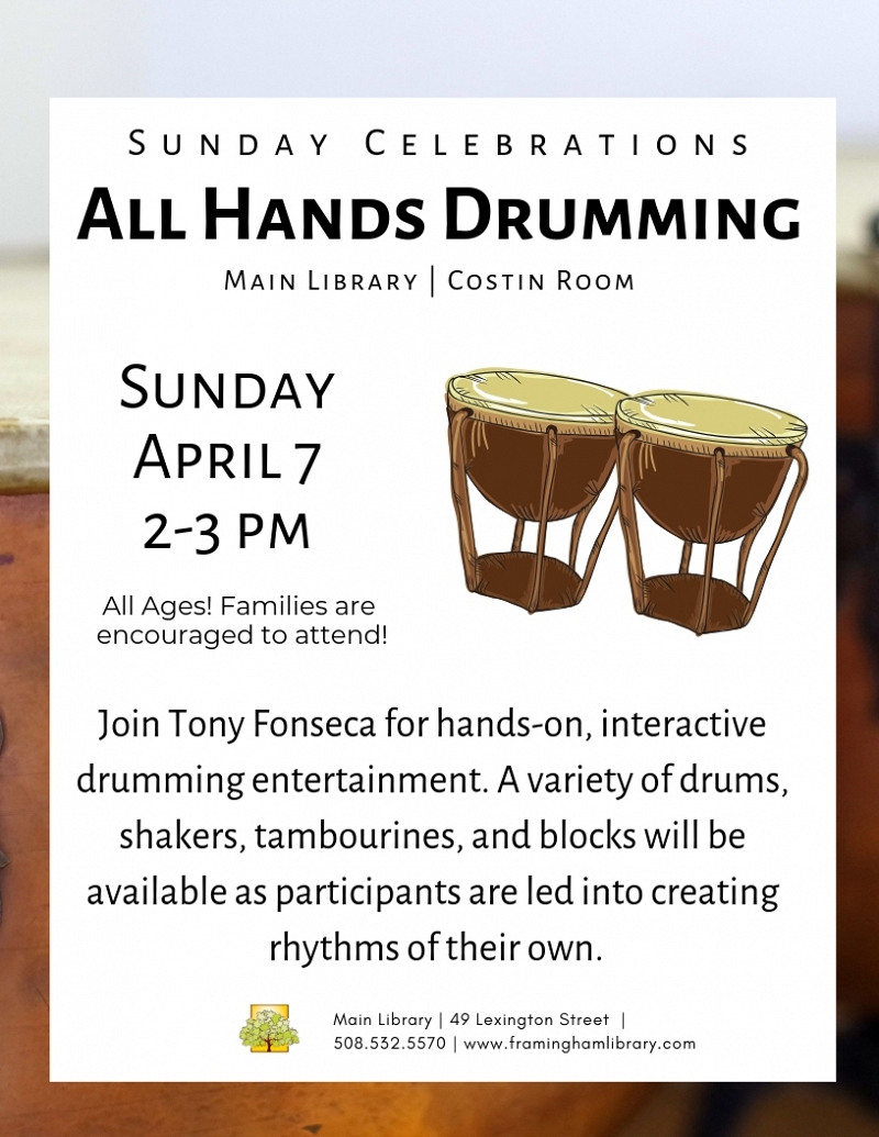 Sunday Celebrations: All Hands Drumming thumbnail Photo