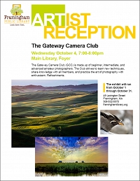 Artist Reception: The Gateway Camera Club thumbnail Photo