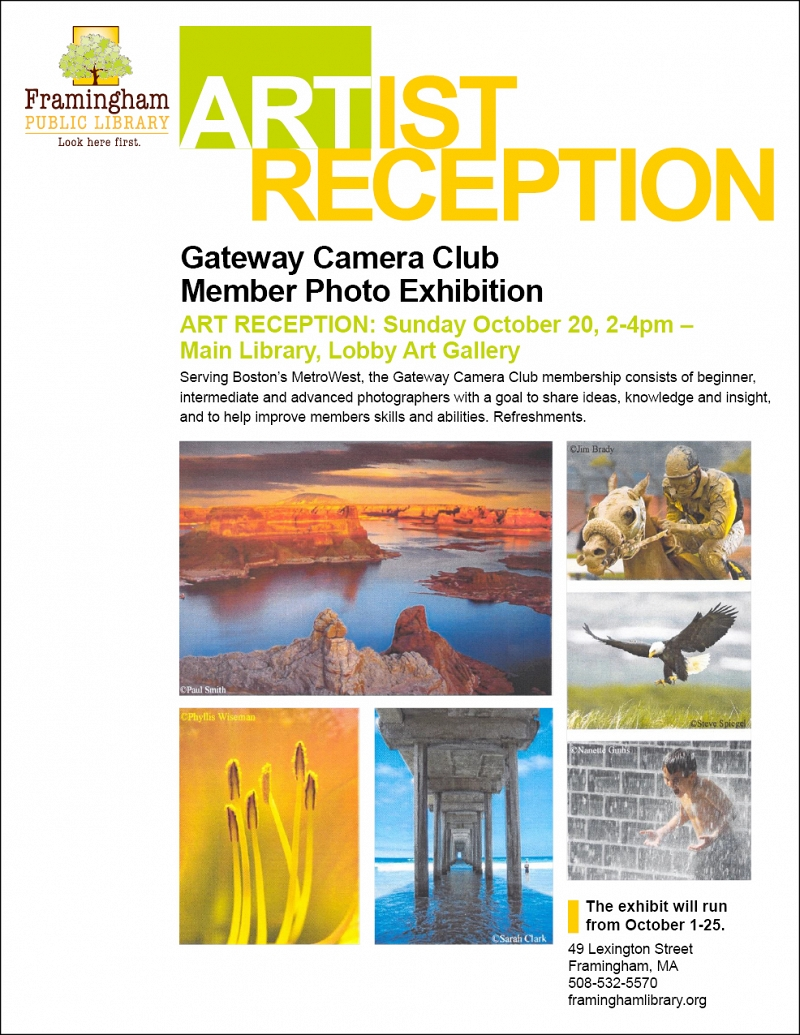 Gateway Camera Club Member Photo Exhibition Art Reception thumbnail Photo
