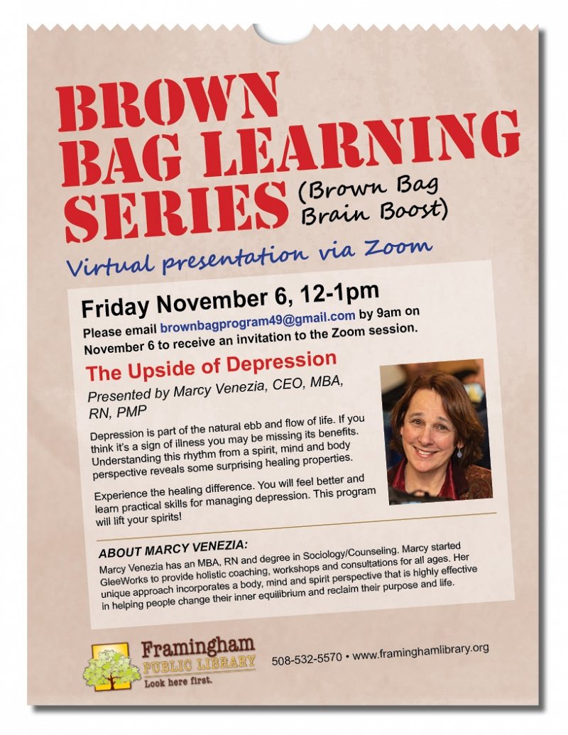 Brown Bag Learning Series: The Upside of Depression thumbnail Photo