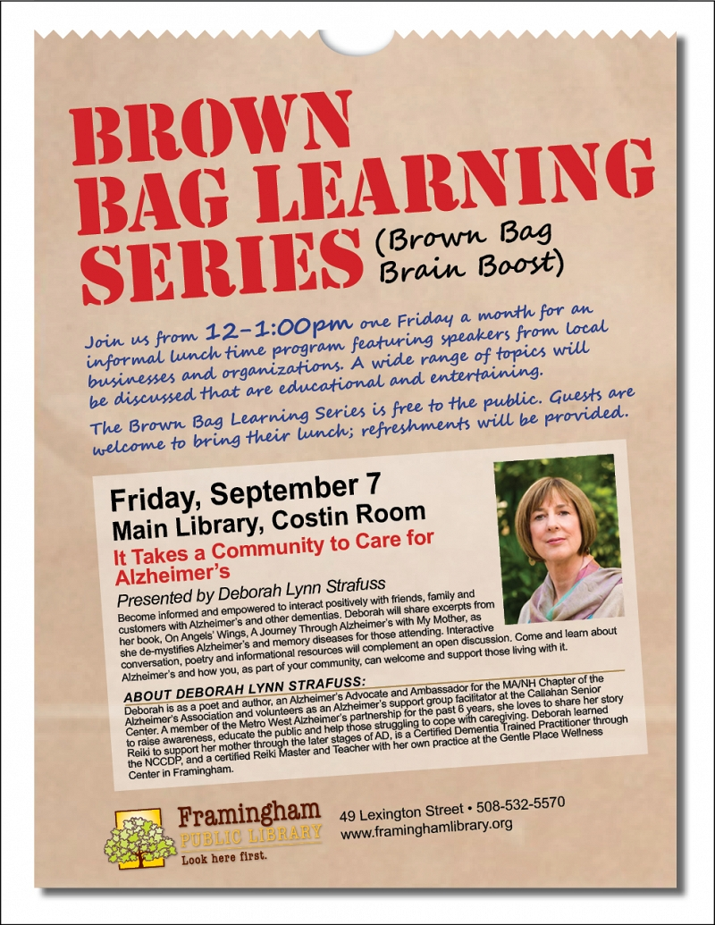 Brown Bag Learning Series: It Takes a Community to Care for Alzheimer's thumbnail Photo