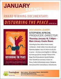 AWARD WINNING DOCUMENTARY: Disturbing the Peace thumbnail Photo