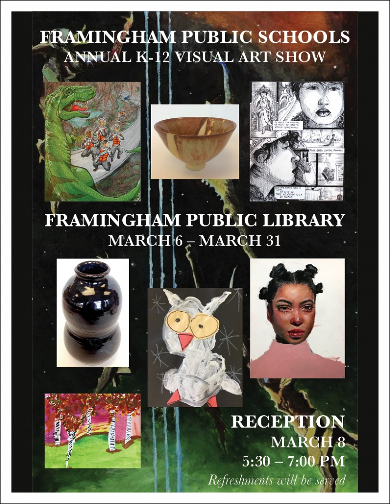 Framingham Public Schools Art Show thumbnail Photo