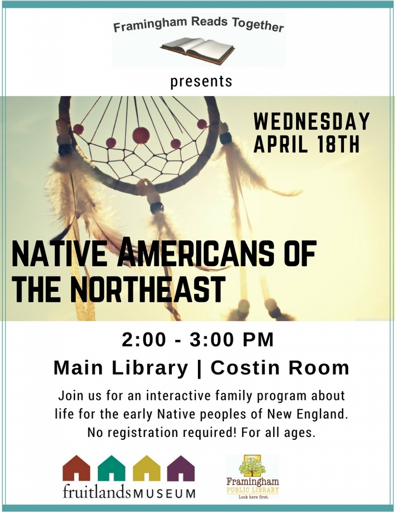 Framingham Reads Together: Native Americans of the Northeast thumbnail Photo