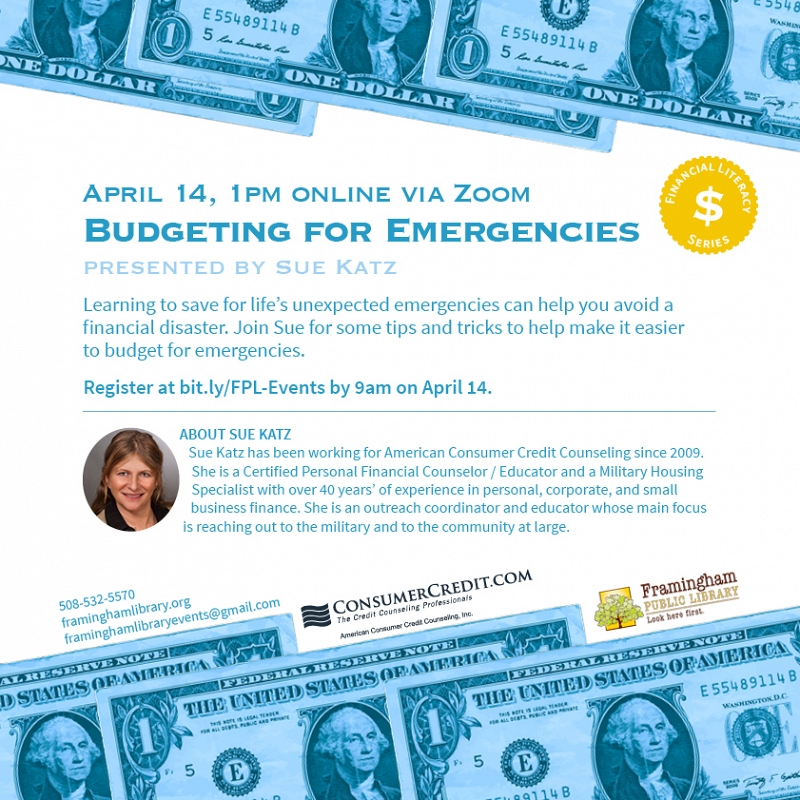 Budgeting for Emergencies thumbnail Photo