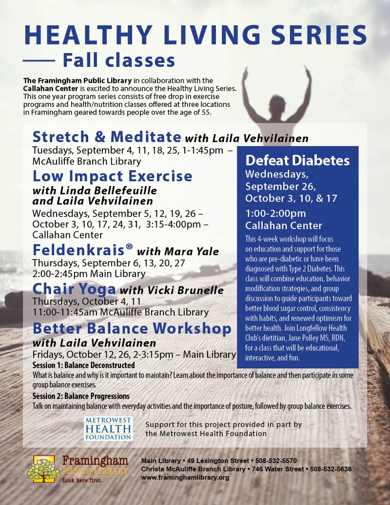 Healthy Living Series: Feldenkrais® with Mara Yale thumbnail Photo