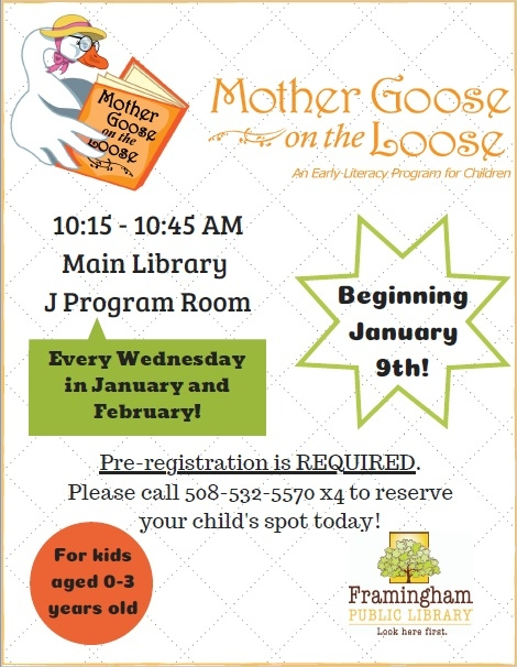 Mother Goose on the Loose Returns! thumbnail Photo