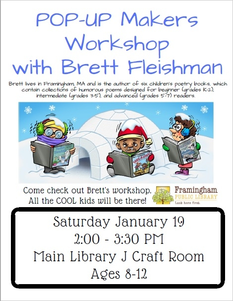 Makers' Workshop with local author Brett Fleishman thumbnail Photo