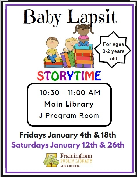 Drop In Baby Lapsit at Main Library thumbnail Photo