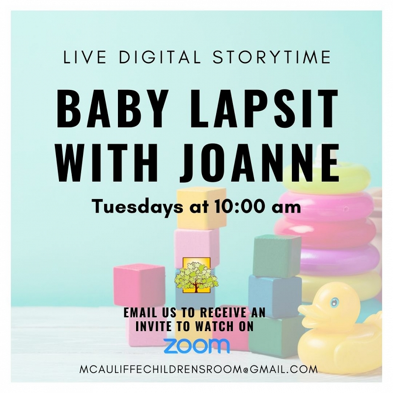 Online Baby Lapsit with Joanne thumbnail Photo