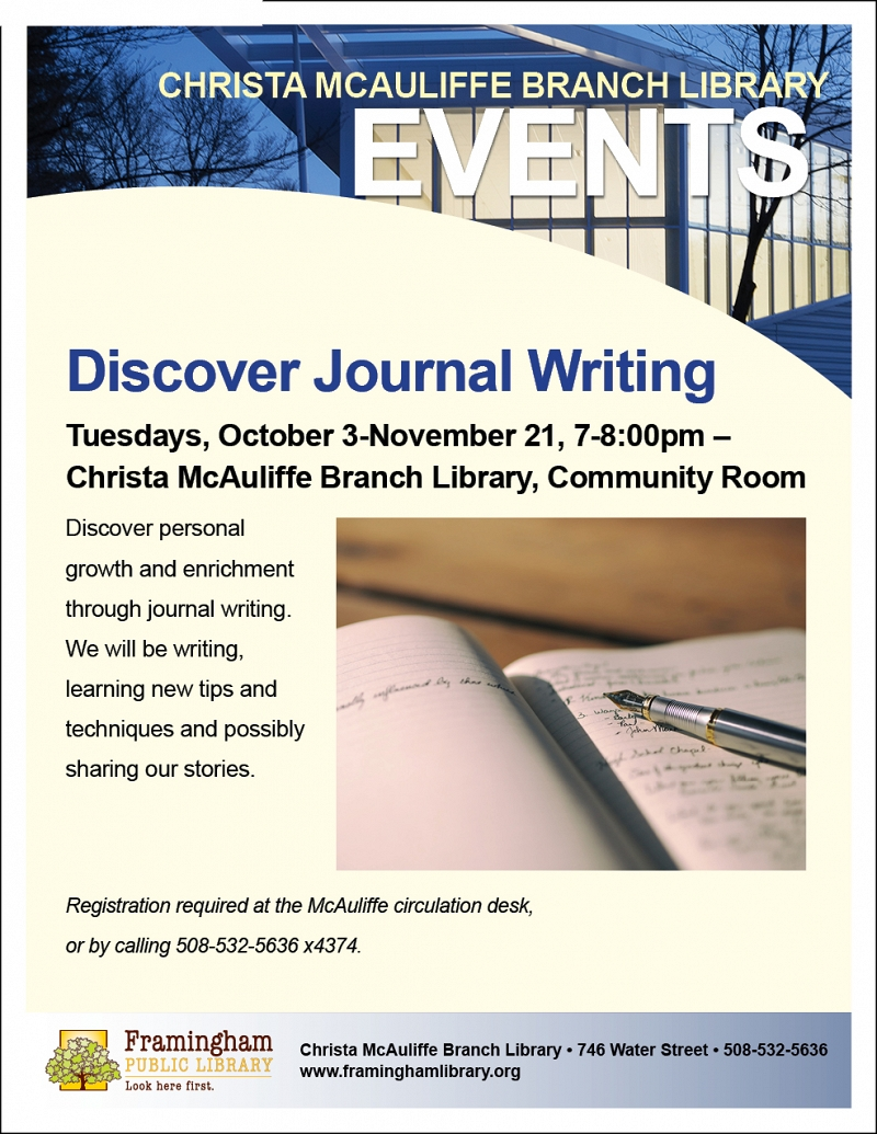 Discover Journal Writing thumbnail Photo