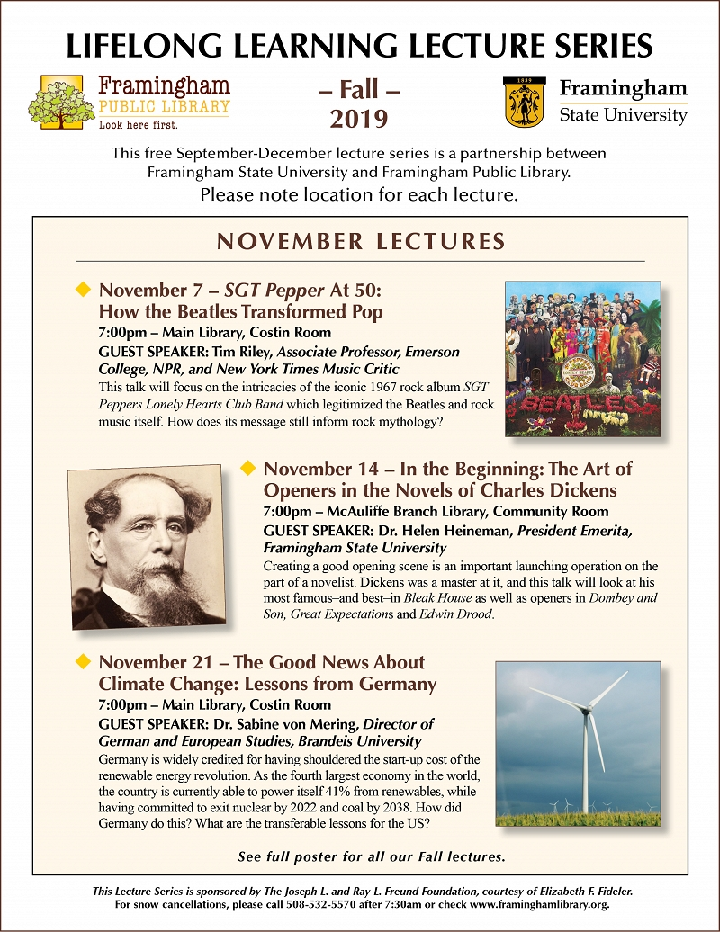 Lifelong Learning Lecture: The Good News About Climate Change: Lessons from Germany thumbnail Photo