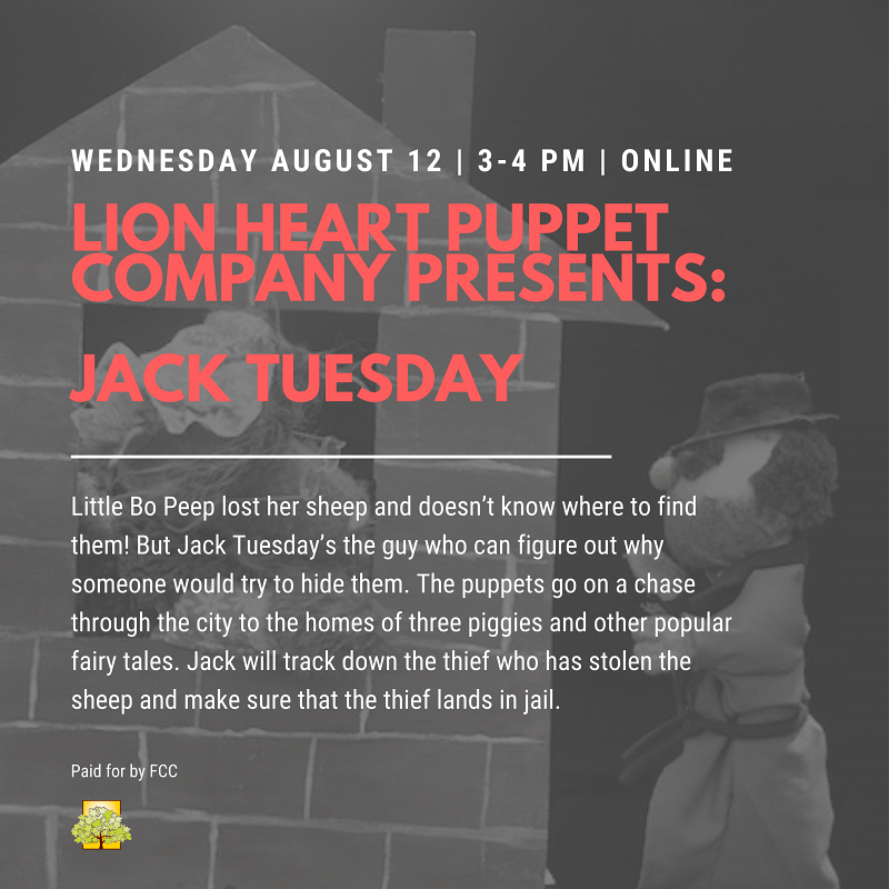 Lion Heart Puppet Company presents: Jack Tuesday thumbnail Photo