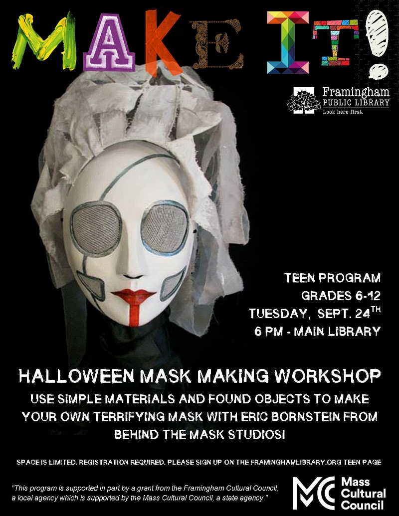 Make It! - Halloween Masks thumbnail Photo
