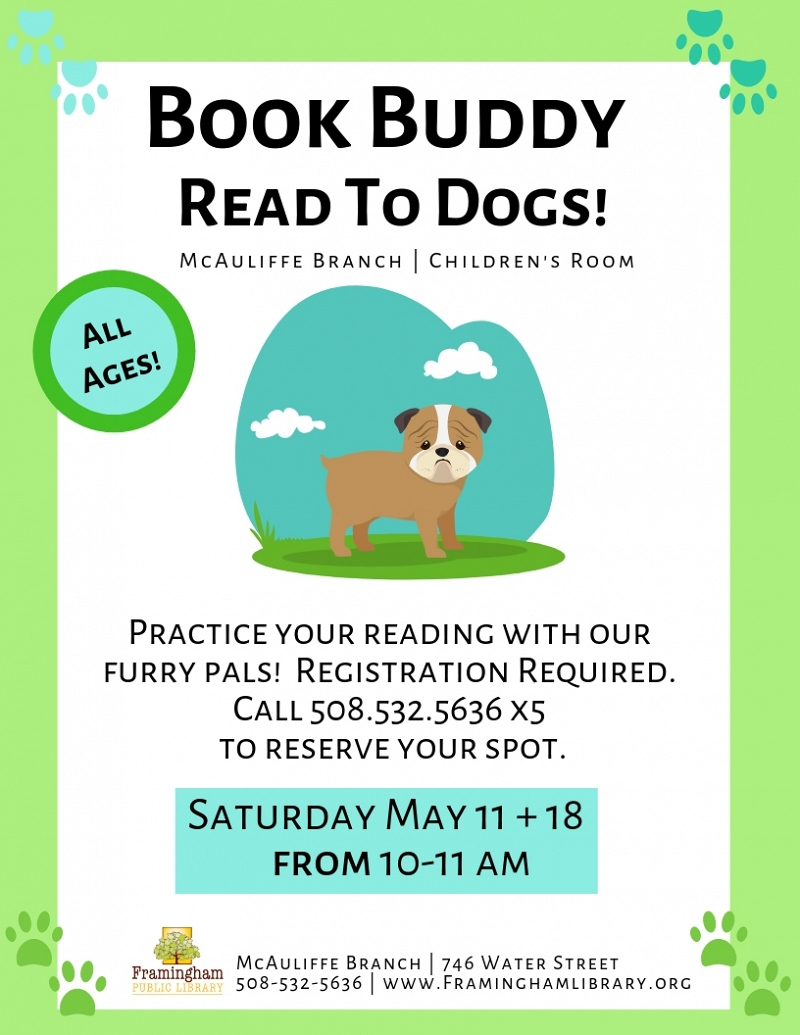 Book Buddy: Reading to Dogs thumbnail Photo