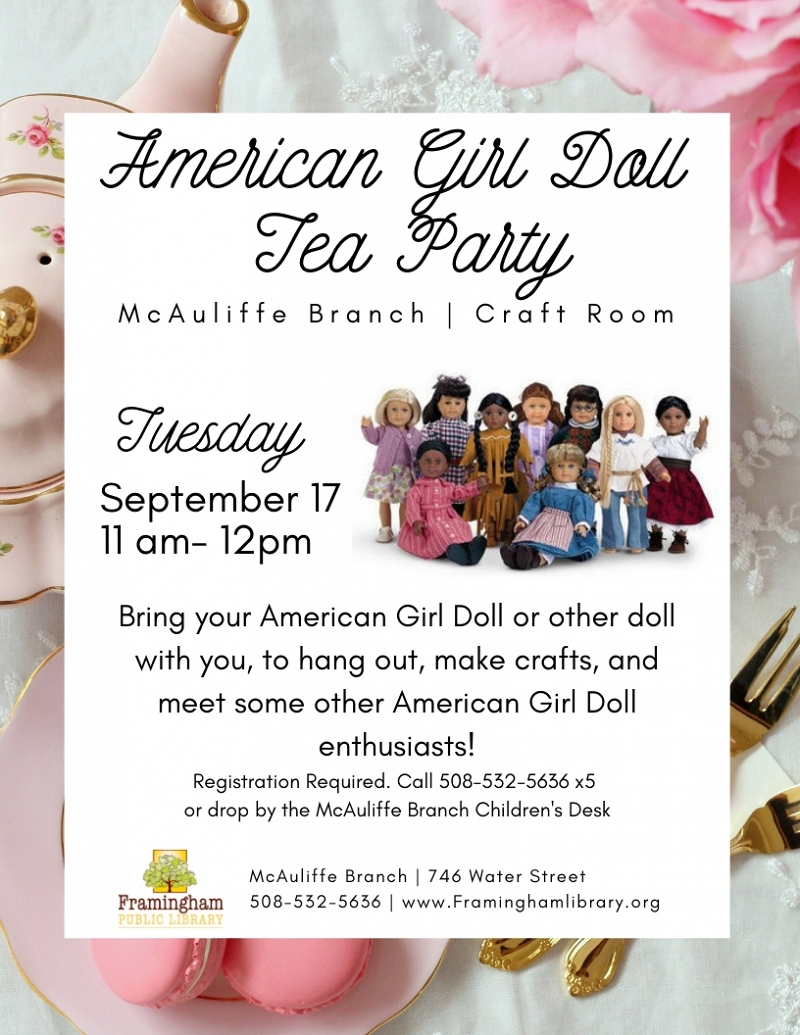 American Girl Doll Tea Party thumbnail Photo