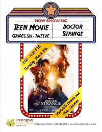Early Release Teen Movie: Doctor Strange thumbnail Photo