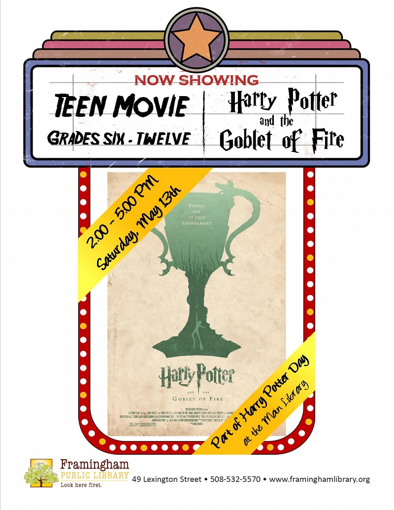 Harry Potter Day: Teen Movie - Harry Potter and the Goblet of Fire thumbnail Photo