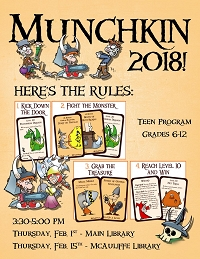 Munchkin 2018 (at Main Library) thumbnail Photo
