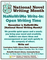 NaNoWriMo Write-in thumbnail Photo