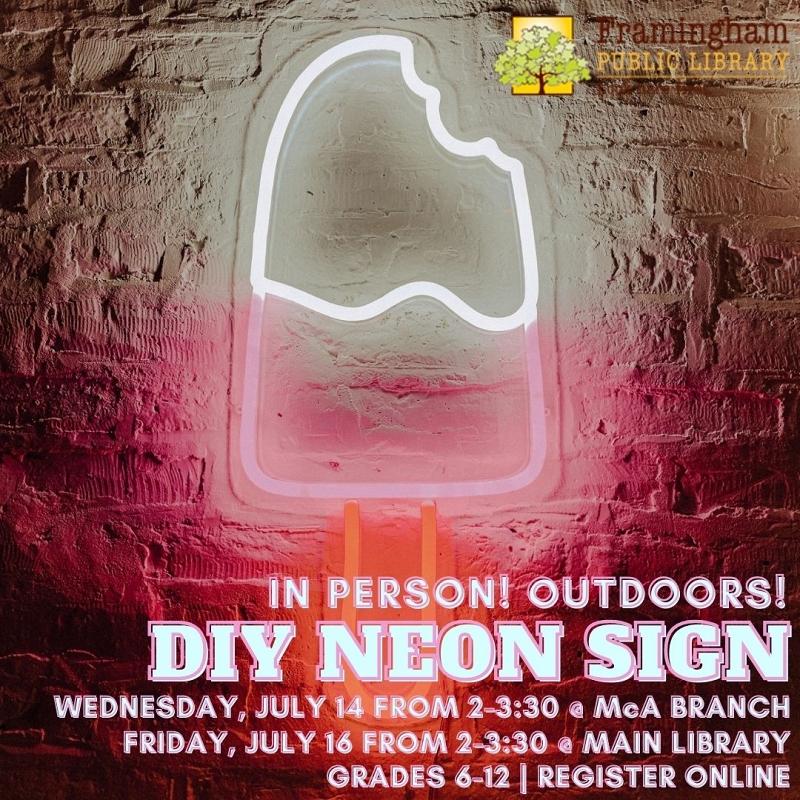 DIY Neon Signs (@ McAuliffe Branch) thumbnail Photo