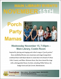 Porch Party Mamas thumbnail Photo