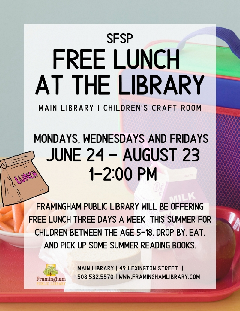 SFSP Free Lunch at the Library thumbnail Photo