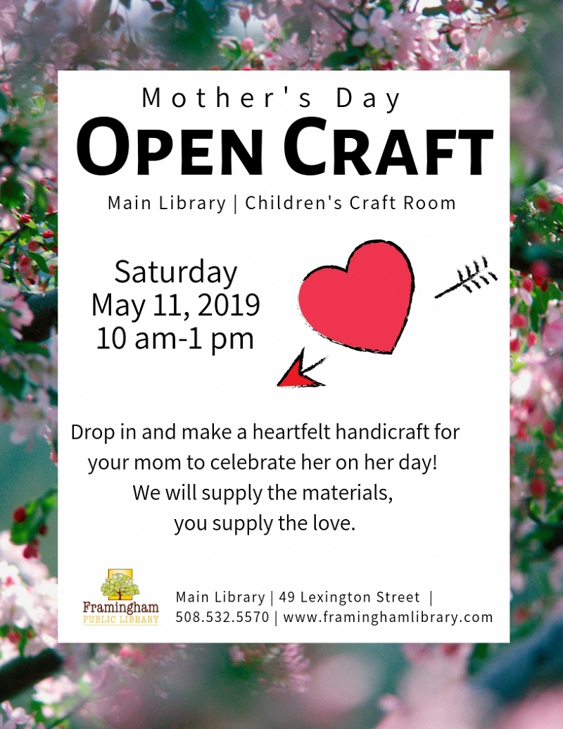 Mothers' Day Open Craft thumbnail Photo
