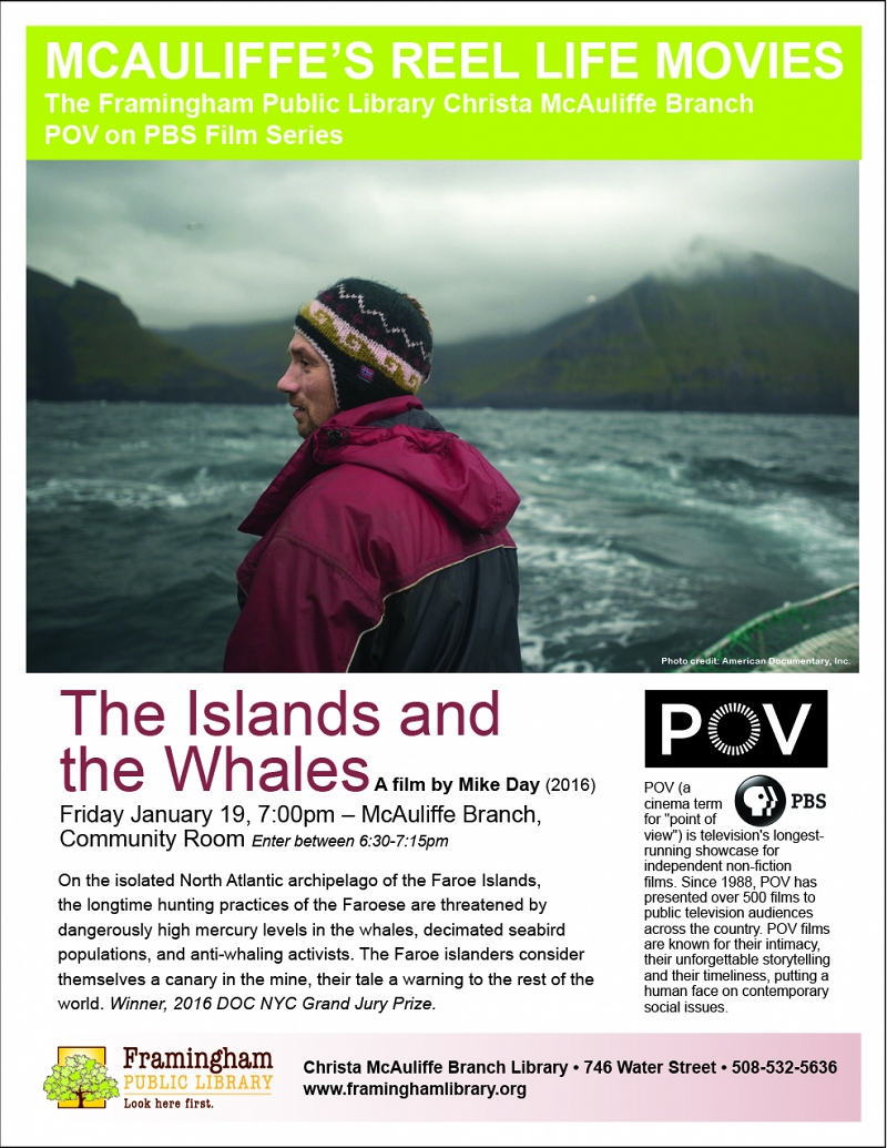 MCAULIFFE REEL LIFE MOVIES: The PBS POV Movie Series: The Islands and the Whales thumbnail Photo