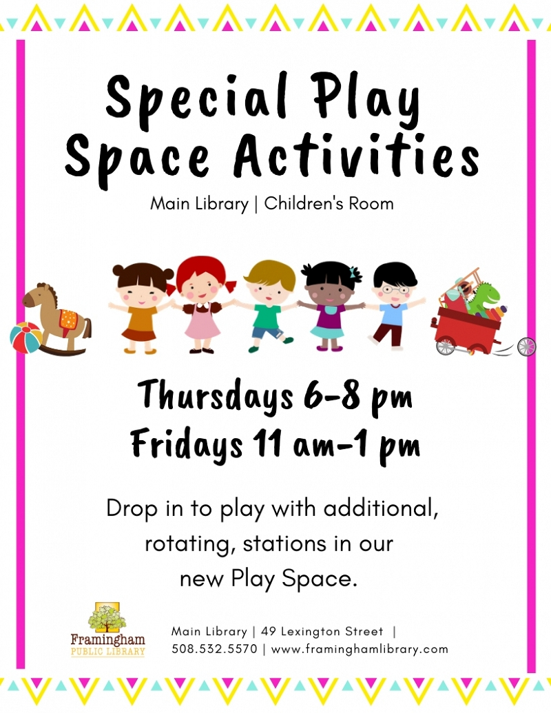 Special Play Space Activities thumbnail Photo