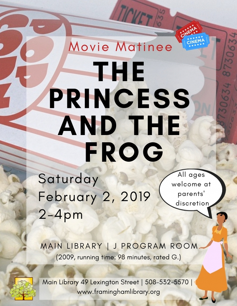 Movie Matinee: The Princess and the Frog thumbnail Photo