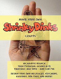 Shrinky Dinks Crafts! thumbnail Photo