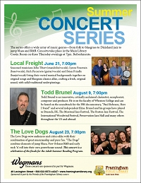 Summer Concert Series: Todd Brunel thumbnail Photo