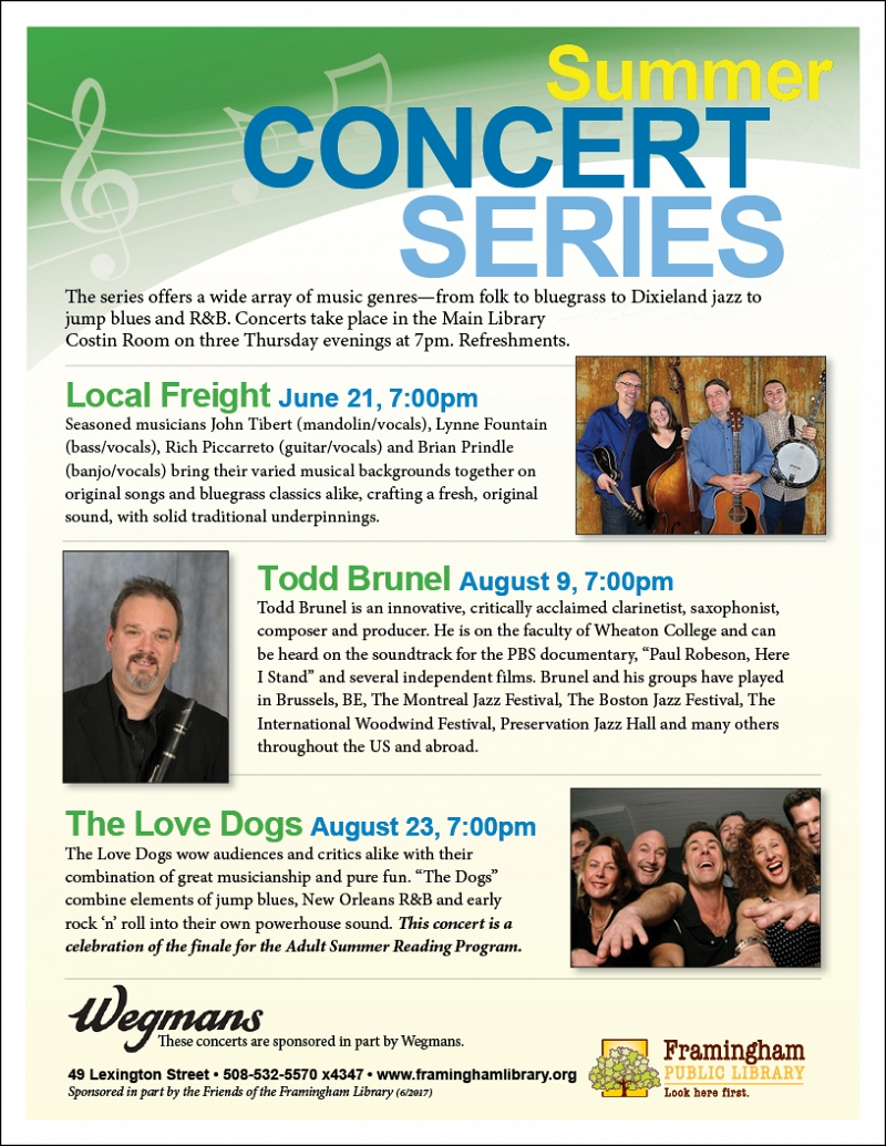 Summer Concert Series: The Love Dogs thumbnail Photo
