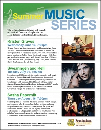 Summer Music Series: Sasha Papernik thumbnail Photo