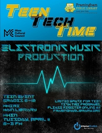 Teen Tech Time: Electronic Music Production thumbnail Photo