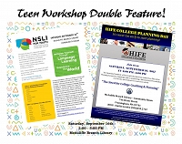 Teen Workshop Double Feature - Immersive Language Study Scholarship & College Prep Information thumbnail Photo
