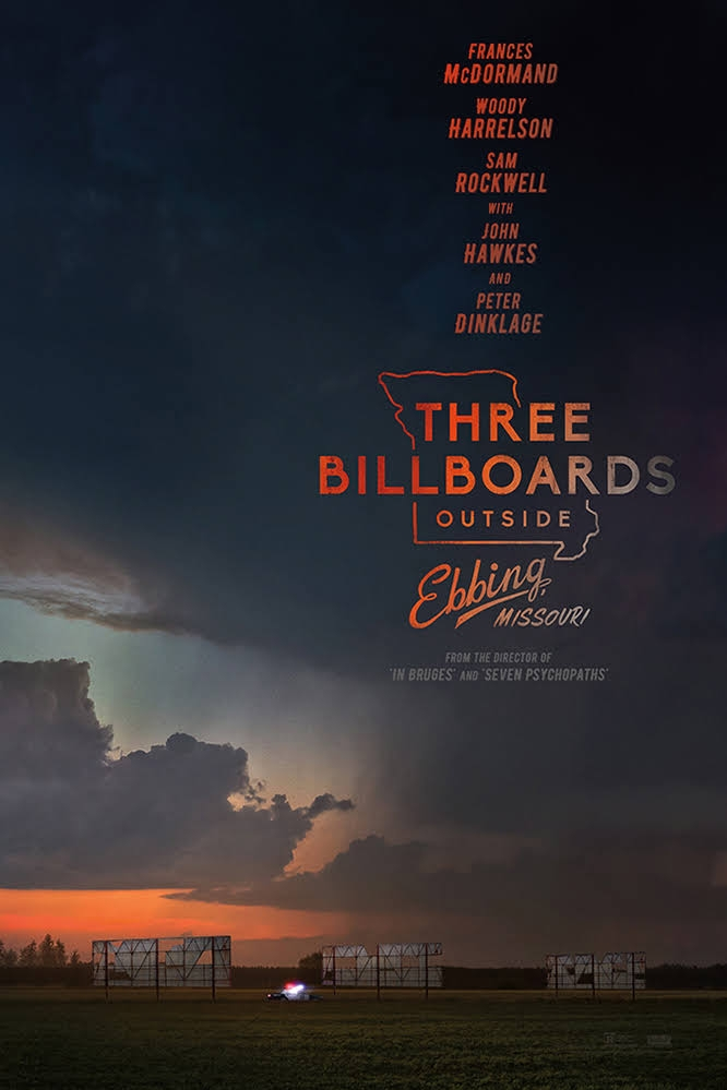 Friday Night Movie: Three Billboards Outside Ebbing, Missouri thumbnail Photo