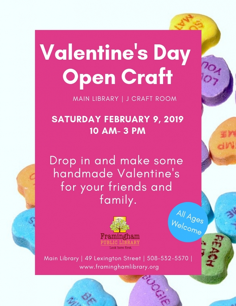 Valentine's Day Open Craft thumbnail Photo