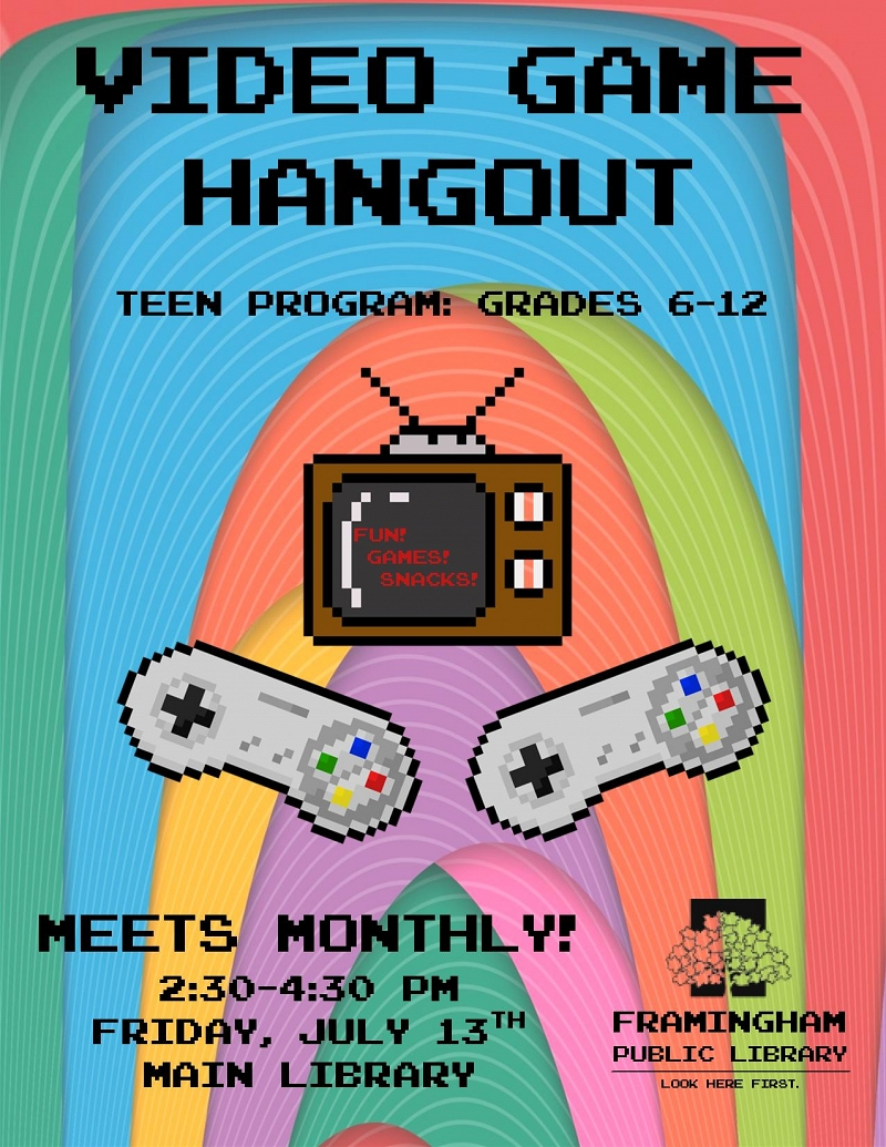 Teen Summer: Video Game Hangout thumbnail Photo