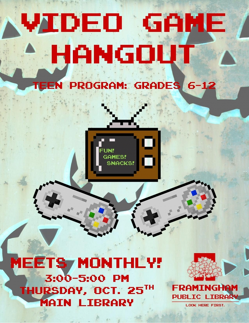 Video Game Hangout October thumbnail Photo