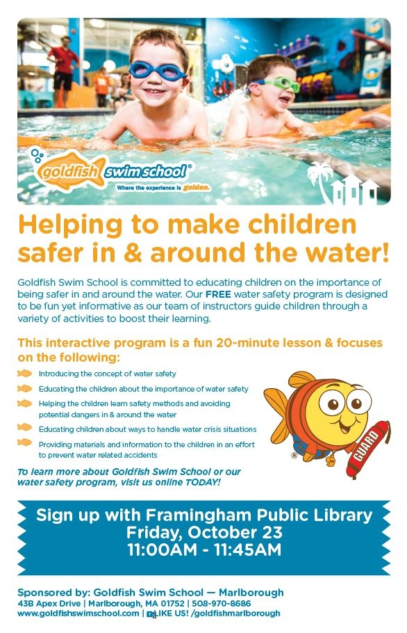 Goldfish Swim School Presents: W.A.T.E.R. Safety thumbnail Photo