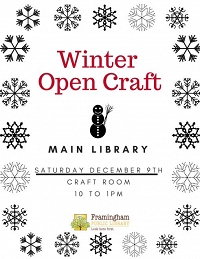 Winter Holiday Open Crafts thumbnail Photo