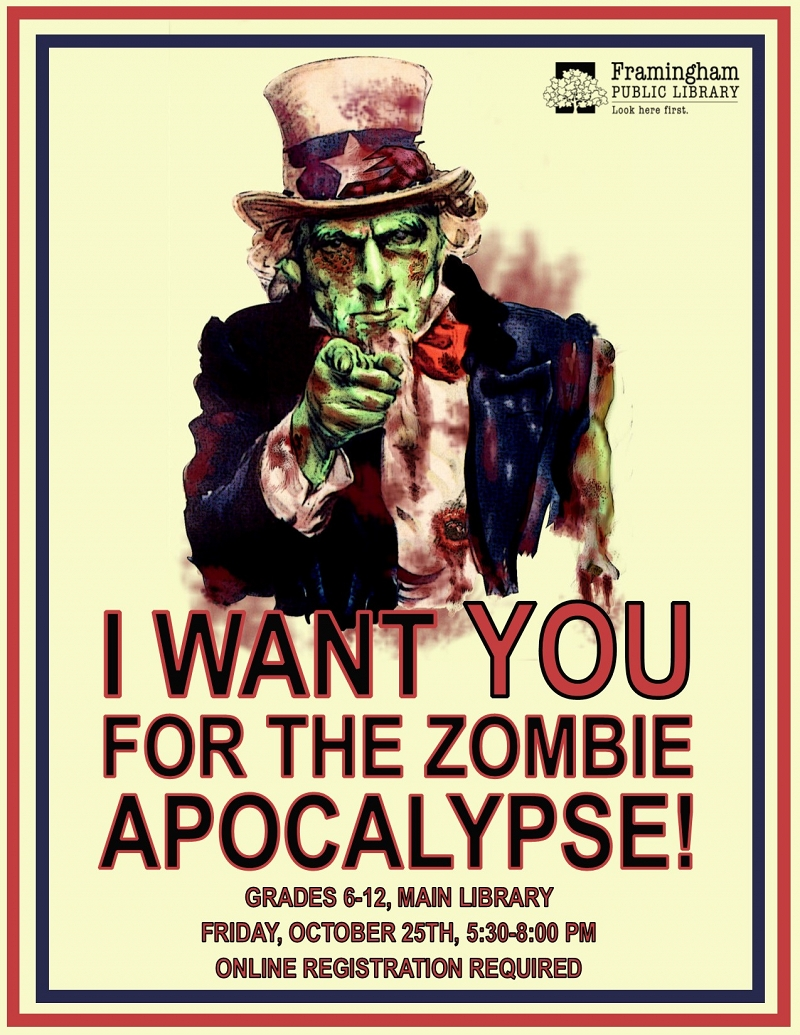 Survive the Zombie Apocalypse! - REGISTRATION REQUIRED thumbnail Photo